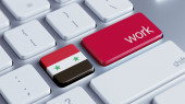 Syria Work Concept — Stock Photo