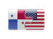 Panama United States  Puzzle Concept — Stockfoto
