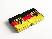 Germany  Puzzle Concept — Stock Photo