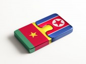 Countries Puzzle Concept — Stock Photo