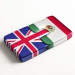 United Kingdom Mexico Puzzle Concept — Stock Photo #57008577