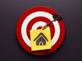Home Contact Icon — Stock Photo