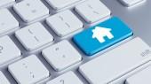 Keyboard Home Icon — Stockfoto