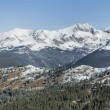 Cottonwood Pass looking towards Ice Mountain — Stock Photo #66018111