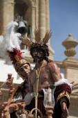Jesus stripped of his garments , Easter in Cádiz — Stock Photo
