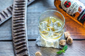 Bacardi Oakheart rum — Stock Photo