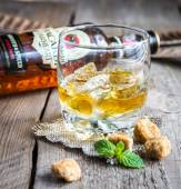 Bacardi Oakheart rum — Stock Photo