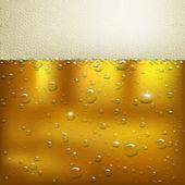Bier Hintergrund — Stockvektor