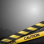 Výstražné pásky — Stock vektor