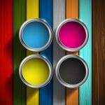 CMYK colors design — Stock Vector #69511219