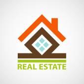 Logo real estate. — Stock Vector