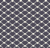 Seamless geometric pattern with hearts. Vector repeating texture. Holiday polka dot — Stock Vector