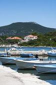 Boats in marina, Croatia — Stock Photo