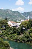 Mostar city view, Bosnia and Herzegovina — Стоковое фото