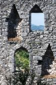 Old city Pocitelj fortress walls, Bosnia and Herzegovina — Stock Photo