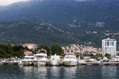 Yachts in Budva, Montenegro  — Stock Photo