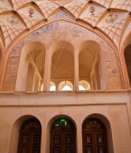 The interior of Historic old house in Kashan, Iran — Stockfoto