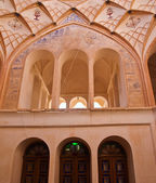 The interior of Historic old house in Kashan, Iran — Foto Stock
