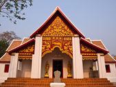 Buddhist Monastry, wat Phra that kao noi, Nan Thailand — Stock Photo