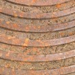 Rusty steel manhole cover  — Stock Photo #54461123