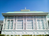 Greenhouse in Neo-Classical Style — Stock Photo