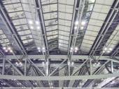 Long span roof structure — Stock Photo