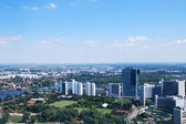 View of the outskirts of the city of Vienna — Stock Photo