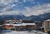 View of the ski resort of Bansko in Bulgaria — Stock Photo