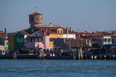 Sea between the islands of Venice — Stock Photo