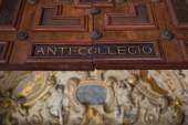 Ancient architecture in the Doge's Palace in Venice — Stock Photo