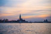 Sunset in Venice — Stock Photo