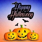 Pumpkins for Happy Halloween — Stock Photo