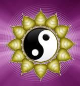 Yin and Yang symbol — Stock Photo