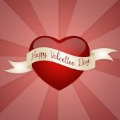 Heart for Valentine Day — Stock Photo