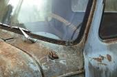Terk edilmiş araba — Stok fotoğraf