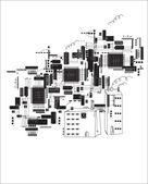 Future City — Stock Vector
