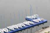 Dinghy yachts — Stock Photo
