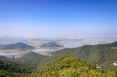 View from Munsu Mountain in Korea — Stock Photo