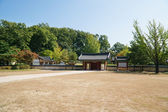 PAJU, KOREA - OCTOBER 05, 2014: Entrance of Bangujeong — Stock Photo