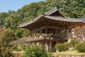 YEONGJU, KOREA - OCTOBER 15, 2014: Beomjongru in Buseoksa Temple — Stock Photo