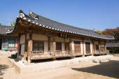 YEONGJU, KOREA - OCTOBER 15, 2014: Jikbangjae and Ilsinjae in So — Стоковое фото