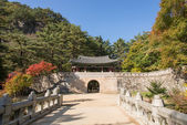 Mungyeong, Korea - October 14, 2014: The Second Gate of Mungyeon — Stockfoto
