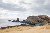 Landhead called Seobjicoji, Famous Place in Jeju Island. — Stock Photo