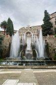 TIVOLI, ITALY - JANUARY 28, 2010: Fontana dell'Organo — Stok fotoğraf