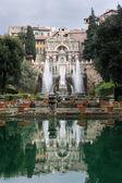 TIVOLI, ITALY - JANUARY 28, 2010: Fontana dell'Organo — Fotografia Stock