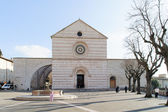 ASSISI, ITALY - JANUARY 23, 2010: Basilica of Saint Clare — Stock Photo