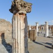 NAPLES, ITALY - JANUARY 19, 2010: pillar of Basilica in Pompeii. — Stock Photo #68638211
