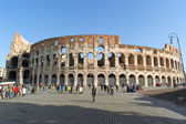 ROME, ITALY - JANUARY 21, 2010: Whole view of Colosseum — Stock Photo