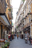 CAMPANIA, ITALY - JANUARY 19, 2010: typical Street at Sorrento — Stock Photo
