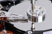 Disassemble Hard disk drive — Stock Photo